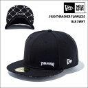NEWERA newera ニューエラ キャップ 5950 THRASHER FLAWLESS BLK SWHT CAP スラシャー