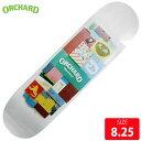 ORCHARD オーチャード デッキ BEACHED BY TJ KELLEY 8.25 OCD-002-3 スケートボード スケボー SK...