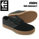 ETNIES エトニーズ スニーカー KIDS JAMESON2 EC DBL/GUM スケートシューズ ジュニア キッズ スケシュー