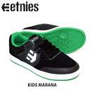 ジュニア スケートボードシューズETNIES エトニーズ スニーカー KIDS MARANA BLU/GRN ジュニア キッズ スケートシューズ スケシュー