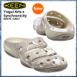 KEEN/キーン ヨギ アーツ [ Yogui Arts ] SYNCHRONICITY WHITE /GRAY 2016 サンダル 正規品 P06May16