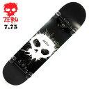 コンプリート スケボー スケートボード ゼロ ZERO THOMAS SINGLE SKULL 7.75インチ ZRC-008 完成品