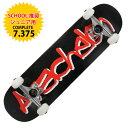 ARACHELON スケートボード 1STMODEL BLACK 7.375 完成品 スケボー ジュニア COMPLETE キッズ