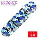 KROOKED クールーキッド コンプリート BIRDCAMO LG DECK 8.0 インチ KKC-017 完成品 組立て済 スケートボード スケボー
