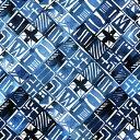 【アートデリ】幾何学模様のファブリックパネル インテリア雑貨 アートパネル キャンバス