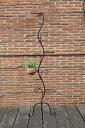 フラワースタンド S型 エクステリア 花台 プランター インテリア 雑貨 アンティーク モダン 北欧 西洋 ヨーロッパ ガーデン ガーデニング