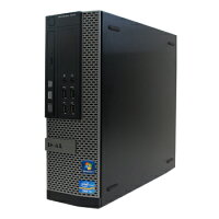 中古パソコンDELLOptiplex9010SFWindows7ProCorei73.4GHz8GB500GBDVD-RWリカバリディスク【中古】【デスクトップ】