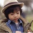 キッズ服 子供服 男の子 帽子 ハット 紫外線 日射病 対策 ベルト バイカラー シンプル 売れ筋 10P07Feb16
