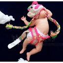 ベビー 赤ちゃん服 男の子 女の子 セットアップ 着ぐるみ 帽子 パンツ 猿 さる サル 干支 年賀状 誕生日 ギフト プレゼント ハロウィン..