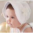 ベビー 赤ちゃん服 女の子 帽子 花柄 レース 無地 シンプル かわいい 紫外線 日射病 日除け 売れ筋
