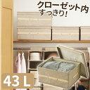 天馬 プロフィックス 布製 フリーボックス 43L ライトブ...