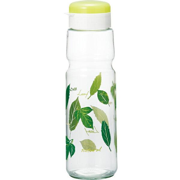 麦茶ポット ガラス クールポット リーフ 1.1L( 冷水筒 水差し )
