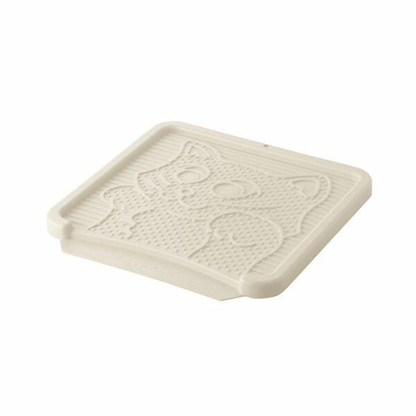猫トイレリッチェルコロル猫の砂取りマットベージュ(猫用品猫トイレマット)