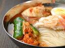 【冷蔵限定】【30%OFF】プロが選ぶ★業務用韓国冷麺8食と白菜キムチ300g、オイソベギ4切れセット