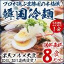 【送料無料】楽天グルメ大賞2010、2011連続受賞!プロが選ぶ麺とスープ 業務用ゴクうま韓国冷麺8