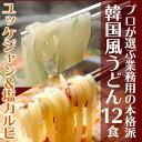 【賞味期限2018年4月10日まで】麺は1玉170gで食べ応え満点!業務用・韓国うどんユッケ