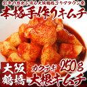 【冷蔵限定】本格韓国大根キムチ 250g(袋入り)(カクテキ、カクテギ)