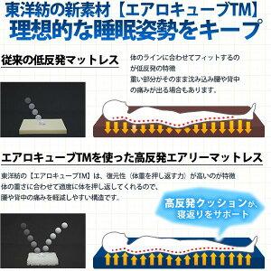 【送料無料】アイリスオーヤマエアリーマットレスMARS-Dダブル