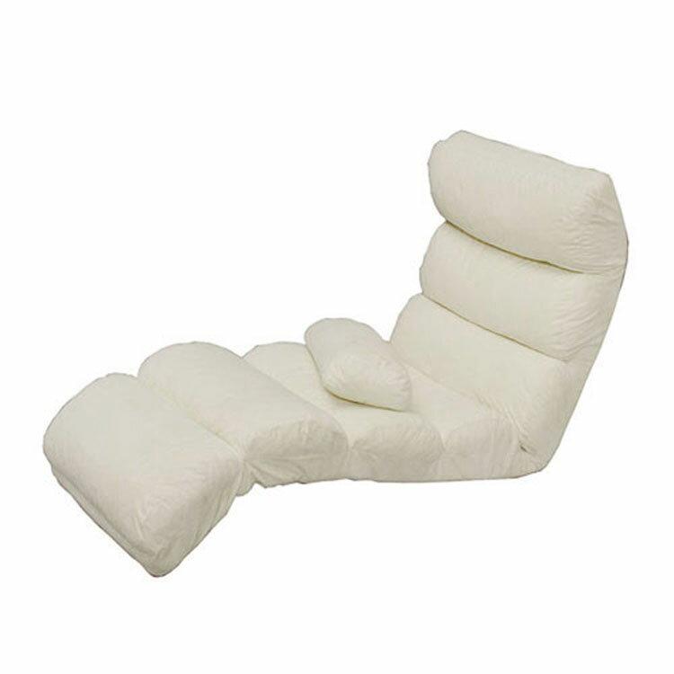 もこもこフロアチェア ZCM-5 アイボリー・ブラウン アイリスオーヤマ 【座いす/座椅子/椅子/いす/座イス/リラックスチェア/リクライニング】| 座椅子 座いす 座イス リラックスチェアー おしゃれ かわいい プレゼント [cpir] iriscoupon