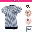 [フィラ テニス・バドミントンウェア(レディース)]ゲームシャツ/レディース(VL1551)