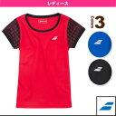 [バボラ テニス・バドミントンウェア(レディース)]ゲームシャツ/レディース(BAB-1685W)