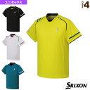 [スリクソン テニス・バドミントン ウェア(メンズ/ユニ)]ゲームシャツ/ユニセックス(SDP-1644)