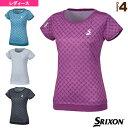 [スリクソン テニス・バドミントン ウェア(レディース)]ゲームシャツ/レディース(SDP-1661W)