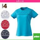 [プリンス テニス・バドミントンウェア(レディース)]ゲームシャツ/レディース(WL6080)
