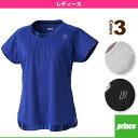 [プリンス テニス・バドミントンウェア(レディース)]ゲームシャツ/レディース(WL6095)