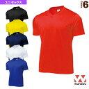 [wundou(ウンドウ) オールスポーツ ウェア(メンズ/ユニ)]ドライライトVネックTシャツ/ユニセックス(P390)