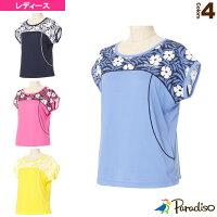 [パラディーゾ テニス・バドミントン ウェア(レディース)]半袖ゲームシャツ/レディース(FCL05A)の画像