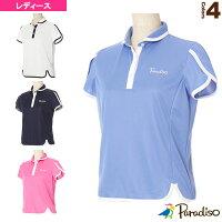 [パラディーゾ テニス・バドミントン ウェア(レディース)]半袖ゲームシャツ/レディース(FCL07A)の画像