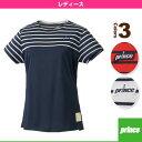 [プリンス テニス・バドミントンウェア(レディース)]ゲームシャツ/レディース(WL7061)