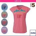 [ローチェ(roche) テニス・バドミントン ウェア(レディース)]グラフィックTシャツ/レディース(R7S38T)