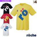 [ローチェ(roche) テニス・バドミントン ウェア(レディース)]ローチェ サイドロゴTシャツ/ユニセックス(R7TU1T)