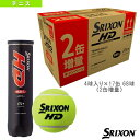 [スリクソン テニス ボール]増量キャンペーン SRIXON HD/スリクソン HD/『4球×15缶』+『4球×2缶』(10256563)