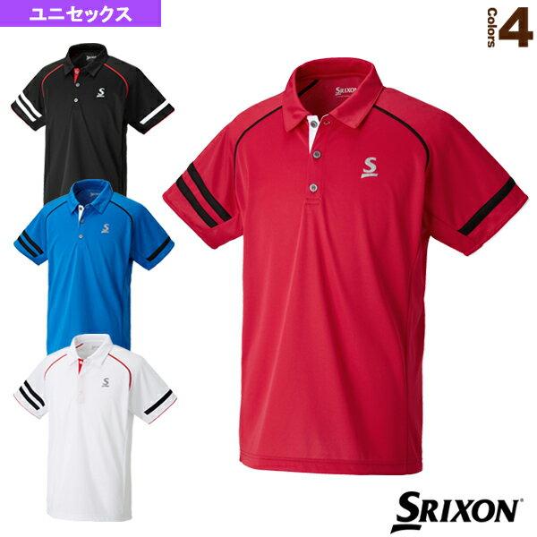 [スリクソンテニス・バドミントンウェア(メンズ/ユニ)]ポロシャツ/ユニセックス(SDP-1745)
