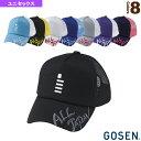 ゴーセン ソフトテニス アクセサリ 小物 オールジャパンキャップ レギュラー/ユニセックス(C18A01)