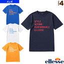 エレッセ テニス バドミントン ウェア(メンズ/ユニ) メッセージティーシャツ/Message Tee/メンズ(EM18103)