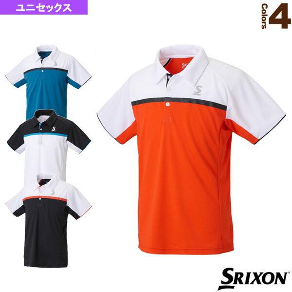 [スリクソンテニス・バドミントンウェア(メンズ/ユニ)]ポロシャツ/ユニセックス(SDP-1805)