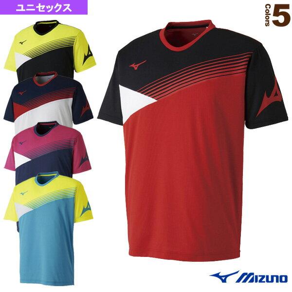 [ミズノテニス・バドミントンウェア(メンズ/ユニ)]Tシャツ/ユニセックス(62JA8006)バドミ