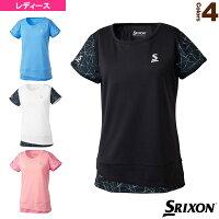 [スリクソン テニス・バドミントン ウェア(レディース)]ゲームシャツ/ツアーライン/レディース(SDP-1863W)テニスウェア女性用の画像