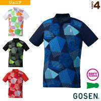 [ゴーセン テニス ジュニアグッズ]ゲームシャツ/ジュニア(T1900)の画像
