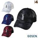[ゴーセン テニス アクセサリ・小物]2019年春企画 GOSENキャップ/G+(C19P01)