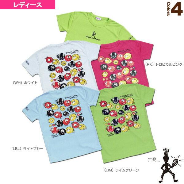 [バルデマッチ テニス・バドミントン ウェア(レディース)]Tシャツ(Oddballs)/レディース(BM-JW1424)