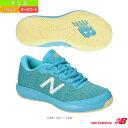 ショッピングテニスシューズ [ニューバランス テニス シューズ]KC996/W(標準〜やや幅広)/オールコート用/ジュニア(KC996)