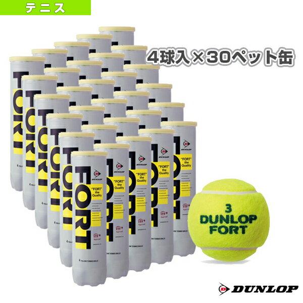 [ダンロップ テニス ボール]FORT(フォート)『4球入×30ペット缶』テニスボール(D…...:racket:10024584