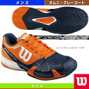 [ウィルソン テニス シューズ]RUSH PRO 2.0 OC/ラッシュ・プロ 2.0 OC/メンズ(WRS320950U)