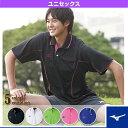 [ミズノ テニス・バドミントンウェア(メンズ/ユニ)]ゲームシャツ/UNISEX(A75HB-211)