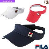 【2014年春夏モデル】バイザー/ユニセックス - VM9501 [テニスサンバイザー?帽子 フィラ/FILA]